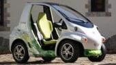 Masina viitorului in Japonia: Cu un singur loc si motor electric