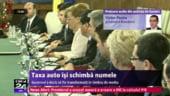 Ponta: Taxa auto va deveni timbru de mediu