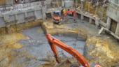 Volumul lucrarilor de constructii, in scadere in primele opt luni