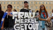 Vizita lui Merkel la Atena: Protestele devin violente