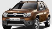 Dacia Duster, pe ultimul loc in topul celor mai sigure masini