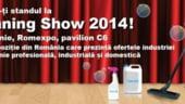 Cleaning Show 2014: Targ dedicat industriei de curatenie, la Romexpo