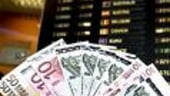 Moneda nationala s-a apreciat cu doi bani, pana la 4,2910 lei/euro