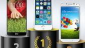 Care este cel mai rapid smartphone: iPhone 5S, Samsung Galaxy S4 sau HTC One?