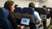 Satelitii, solutia optima pentru accesul la internet pe avion