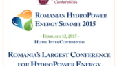 Romanian Hydropower Energy Summit - totul despre hidroenergie