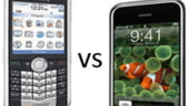 Bancherii migreaza spre iPhone in dauna BlackBerry