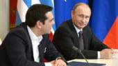 Tsipras, impins direct in bratele lui Putin. Cum ar sta Grecia, tara NATO, pe banii rusilor?