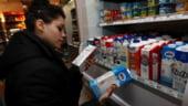 O noua alerta alimentara: Lapte cu substante periculoase, retras de la vanzare