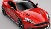Aston Martin uimeste cu Vanquish S Red Arrows, un bolid dedicat Royal Air Force