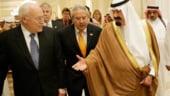Dick Cheney si regele Arabiei Saudite negociaza stabilizarea pietei petroliere