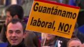 Proteste in Spania: Aprobarea planului de austeritate a trezit furia oamenilor