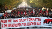Transportatorii eleni incep luni o greva pe termen nelimitat