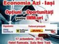 Economia Azi. Optiuni si oportunitati pentru IMM-uri