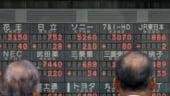 Bursa japoneza a inchis in urcare