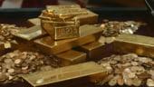 Aurul ar putea inregistra cel mai mare declin din 2004