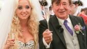 Miliardarul octogenar Richard Lugner s-a casatorit cu un model Playboy de 24 de ani