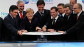Putin il asteapta pe Junker cu gazul pe masa: Rusii vor sa transeze problema Nord Stream 2