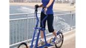 Cu bicicleta eliptica la plimbare. Accepta provocarea verii 2015!