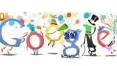 Google intampina 2012 cu un Doodle special