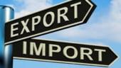 Deficitul comercial a crescut in primele patru luni cu 7,4%