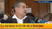 UPDATE. Gigi Becali si-a luat adio de la familie si s-a predat, pe ascuns, la IPJ Ilfov