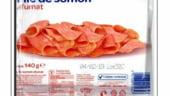 Atentie, consumatori! File de somon cu Listeria, retras din Carrefour
