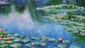 """Un tablou din seria """"Nuferi"""" de Monet a fost vandut la licitatie cu 32 milioane de lire sterline"""