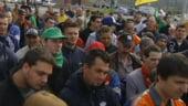 ArcelorMittal: Proteste violente in Belgia, dupa anuntul de concediere a 1300 de angajati