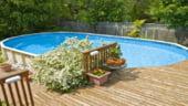 Vrei o piscina in curte? Incepe cu varianta supraterana