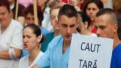 Protest al medicilor in Capitala. Ministerul Sanatatii: Orice problema se rezolva prin dialog, colaborare si incredere