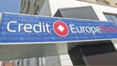 Protest in fata sucursalei bancii Credit Europe Bank din Brasov