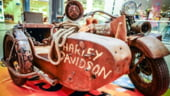 Expozitie de motociclete Harley Davidson, la Mall Promenada Galerie FOTO