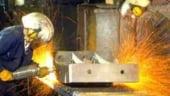 Productia industriala din Marea Britanie a scazut in al patrulea trimestru pana la un minim din 1974