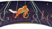 Google promoveaza gimnastica prin crearea unui nou logo