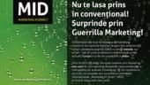 Guerrilla Marketing, pentru cei ce vor sa depaseasca conventionalul