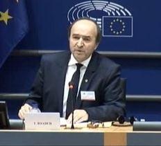 Ministrul Justitiei, intrebat la Bruxelles despre protocoale: SRI are locul lui, nu intra in zona de urmarire penala