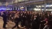 Proteste violente la Barcelona, cu zeci de raniti. Aeroportul a fost blocat, sunt peste 100 de zboruri afectate, inclusiv spre Romania (Video)