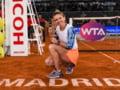 Simona Halep castiga din nou turneul lui Tiriac de la Madrid