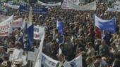 Functionarii spanioli protesteaza fata de reducerile salariale