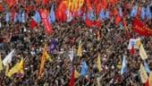 1 Mai in lume: Revendicarile salariale, tema centrala a manifestatiilor