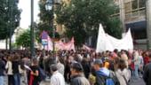 O noua greva generala paralizeaza Grecia