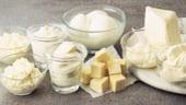 Productia de alimente din lapte de vaca a scazut in 2011