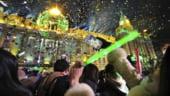 Anul Nou, sarbatorit cu confetti comestibil si artificii de Cartea Recordurilor (Foto si Video)