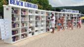 Prima biblioteca pe plaja din Europa, amenajata in Bulgaria, la Albena