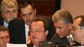 Boc discuta cu Pogea, Nita si Videanu despre programul anticriza propus de PSD