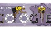 Google marcheaza inceputul Turului Frantei printr-un logo special