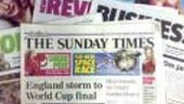 Versiunile online ale Sunday Times si The Times, accesibile doar cu plata