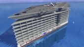 VIDEO Cel mai mare vas construit vreodata. Cum arata proiectul Freedom Ship