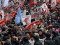 Protestele ajung la Moscova. Peste 5.000 de persoane in strada